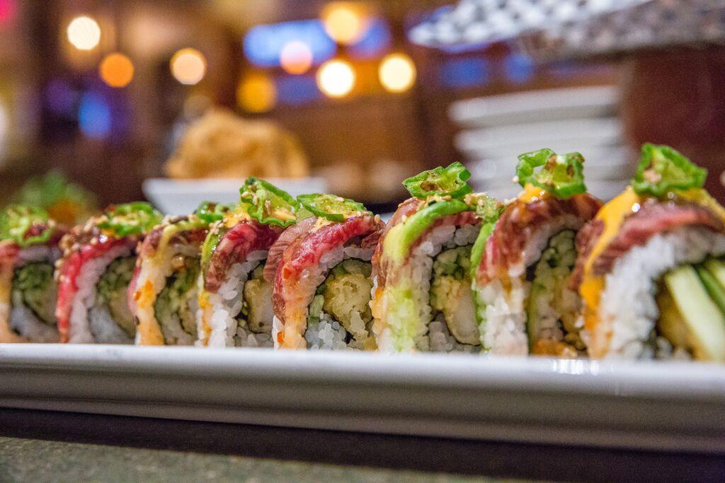 Lat more sushi