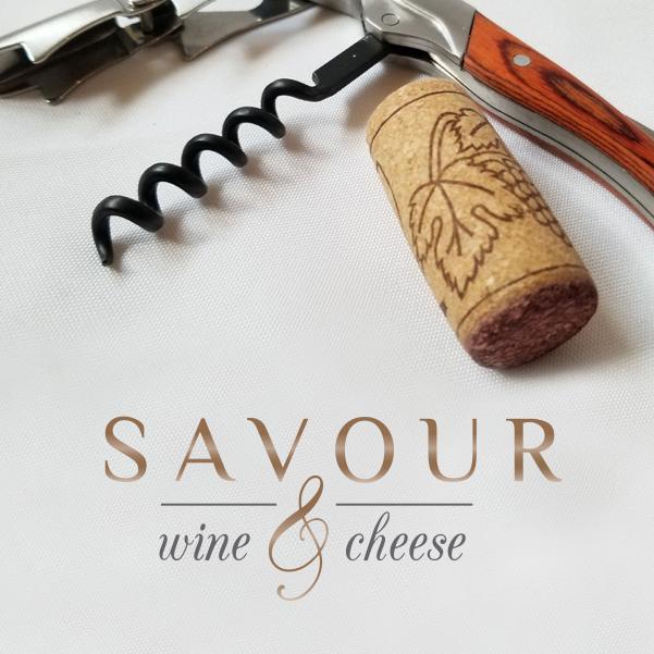 Savour corkscrew logo